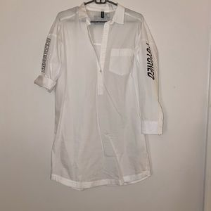 T-shirt Tunic w/ Embellishments